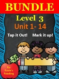 Level 3 - Units 1-14 BUNDLE Tap it out! Mark it up!