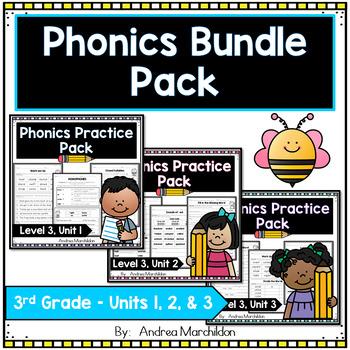 Level 3 Units 1, 2, & 3 Phonics Bundle Pack