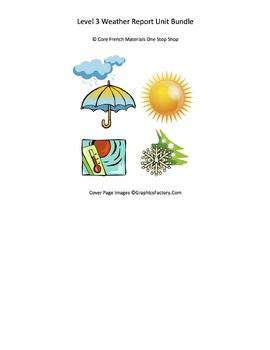Level 3 Weather Report Unit Bundle