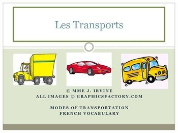Level 3&4 Core French Year 1 Unit 4 Travel in Saskatchewan Unit Bundle