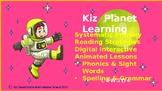 Level 4 Bundle Gr. 1 Reading, Phonics, Grammar, Sight words