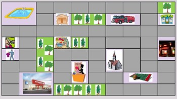 Level 4 PowerPoint Board Game: Giving Directions in Your Community
