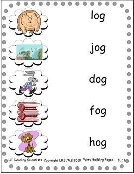 Level 4: Short O (CVC) - Word Building/Spelling Kit - Set 2