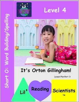 Short O (CVC) - Word Building/Spelling Kit (OG)