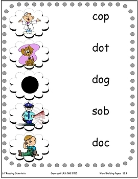 Short O (CVC) - Word Building/Spelling Kit (OG)