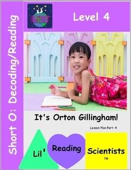 Level 4: Short Vowel O (CVC) - Decoding/Reading Kit (OG)