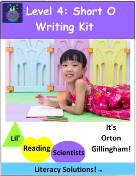 Level 4: Short Vowel E (CVC) Writing Kit
