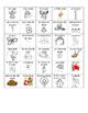 Level 5&6 Christmas French Vocabulary Bingo (Lotto)