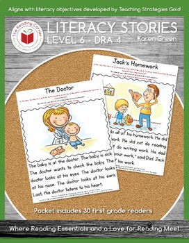 Level 6 Literacy Stories