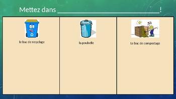 Level 5 Organiser les dechets et les recycables