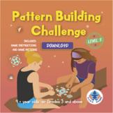 Level 5 - Pattern Building Challenge Game