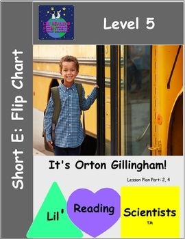 Short E (CVC) - Picture Prompts and Words Flip Chart (OG)