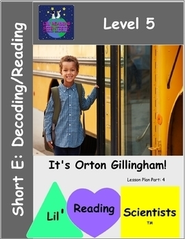 Level 5: Short Vowel E - (CVC) - Decoding/Reading Kit
