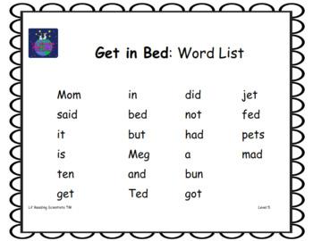 Short E (CVC) - Decodable Stories, Sentences, and Word Cards (OG)