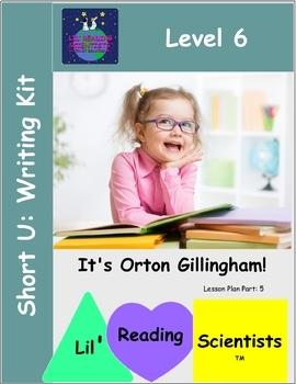 Short U (CVC) - Writing Workshop (OG)