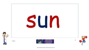 Short U (CVC) - Picture Prompts and Word Cards Flip Chart (OG)