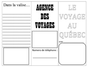 Level 6 Travel to Quebec Travel Brochure Final Project