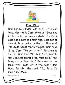 FLOSS Rule (Twin Letters) - Decodable Stories, Sentences, and Word Cards (OG)