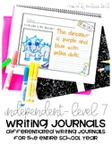 Differentiated Writing Curriculum- Level 7 (Independent)