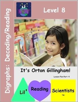 Level 8: Digraphs (CVCC) - Decoding/Reading Kit