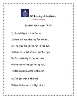 Digraphs (CVCC) - Decoding/Reading Kit (OG)
