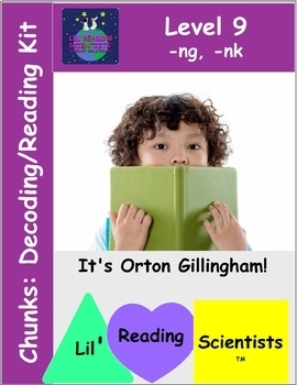 Chunks (-ng, -nk Endings) - Decodable Stories, Sentences, and Word Cards (OG)