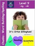 Chunks (-ng, -nk Endings) - Word Building with -ng and -nk Endings (OG)