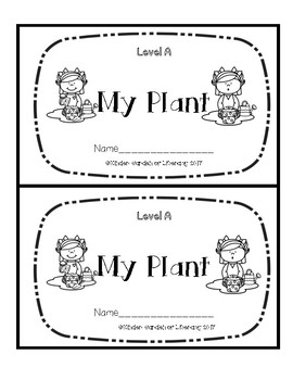 Level A Book-A Plant
