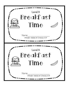 Level A Book-Breakfast