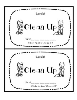 Level A Book-Cleaning