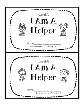 Level A Book-Community Helpers