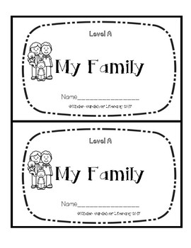 Level A Book-Family