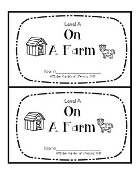 Level A Book-Farm