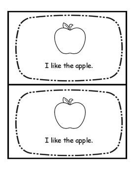 Level A Book-Fruit