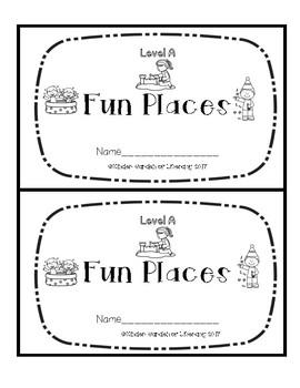 Level A Book-Fun Places