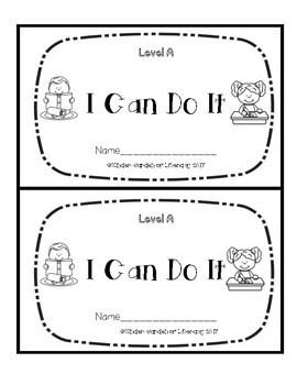 Level A Book-I Can