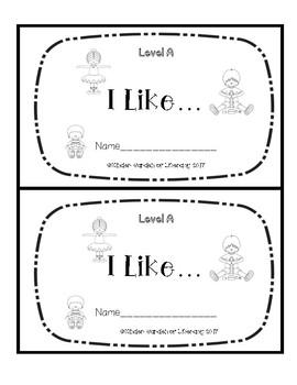 Level A Book-I Like