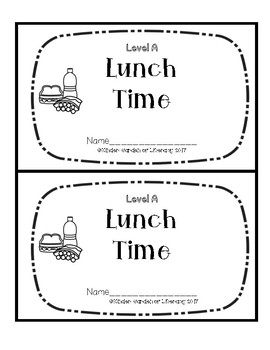 Level A Book-Lunch