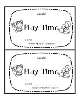 Level A Book-Playtime