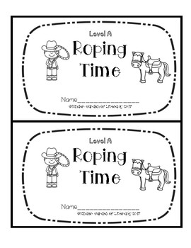 Level A Book-Roping