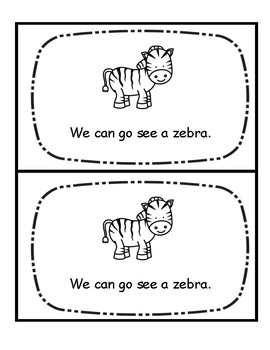 Level A Book-Zoo