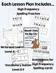 Level A - F Guided Reading Lesson Plans - Growing Bundle