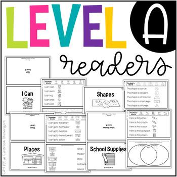 Level A Mini Comprehension Readers
