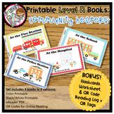Printable Leveled Books for Kindergarten - Community Helpers Level A
