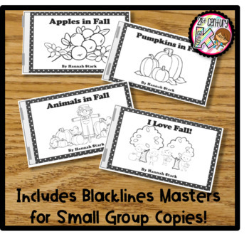 Printable Leveled Kindergarten Books - Fall Changes Level A