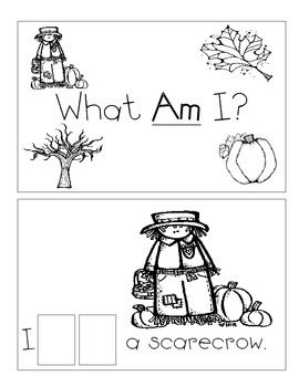 Level A Sight Word Reader Fall Holiday Bundle-4 Books