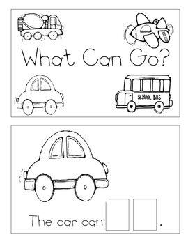 Level A Sight Word Reader-Go