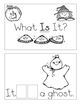 Level A Sight Word Reader-IS (Halloween)