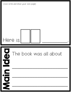 Level A Sight Word Reader-My