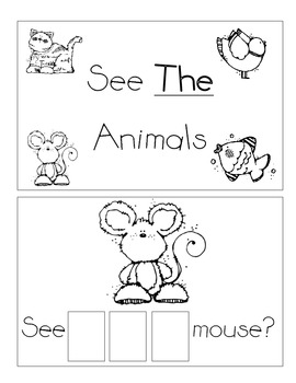 Level A Sight Word Reader-The